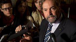 Mulcair To Harper: 'Stop