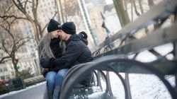 A Winter Engagement Shoot in Central