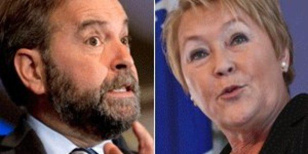 Thomas Mulcair Cautions Quebec On So-Called Values