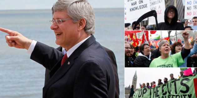 Harper's Gift to Unions: A Bill of