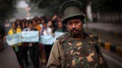 Gang Rape Sparks Massive Protest In