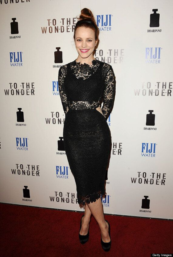 Rachel McAdams Sizzles At 'To The Wonder' Premiere In Lace Dress