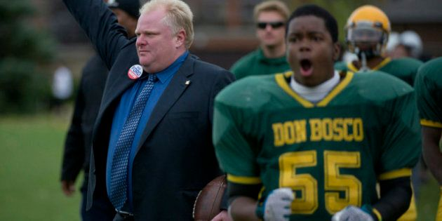 Does Toronto Mayor Rob Ford Have a White Saviour