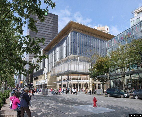Nordstrom Vancouver Glass Building To Replace Sears
