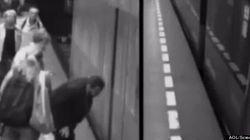 WATCH: Woman Falls Under Subway Train, Miraculously