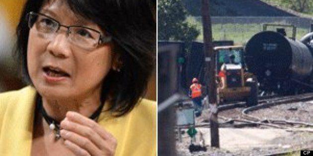 Olivia Chow: Calgary Train Bridge Incident Demands Transport Canada