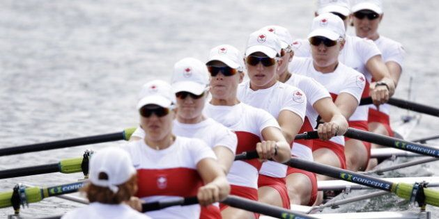 London Summer Olympics: Canada's Women's Eight Advance To Rowing