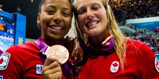 Emilie Heymans, Jennifer Abel Deliver On Diving With Canada's First Medal Of The
