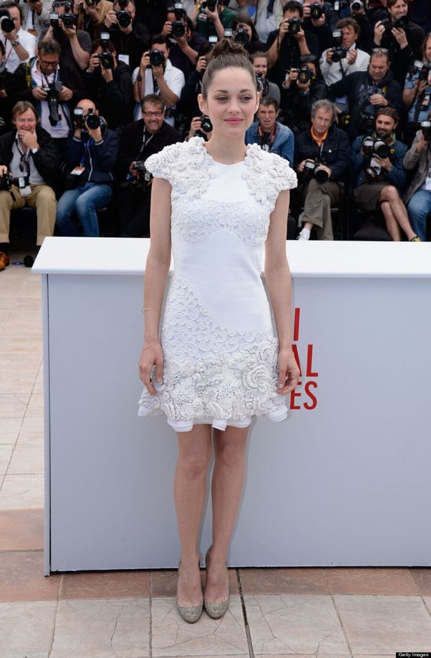 Marion Cotillard Cries On Cannes 2013 Red Carpet