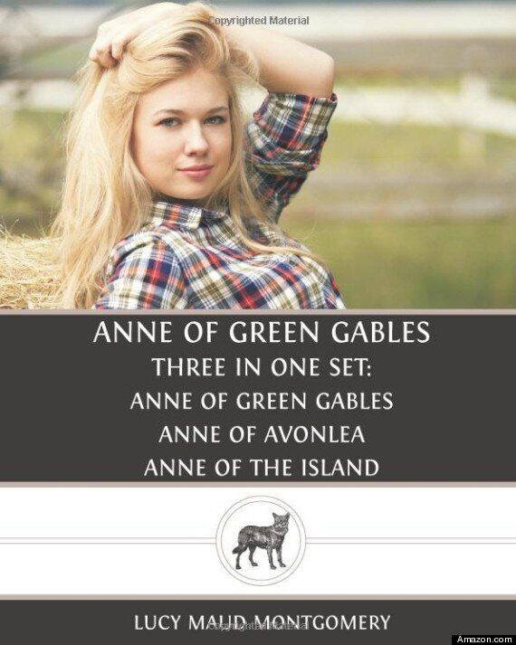Anne Of Green Gables Blond On Book Cover