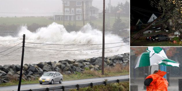 Hurricane Sandy Slams Ontario, Quebec,