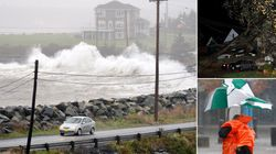 Ontario, Quebec Reeling, As Storm Churns