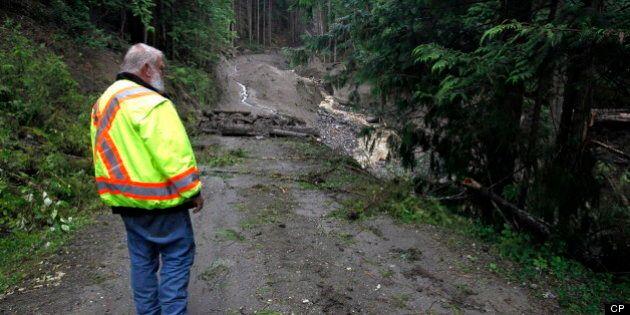 Johnsons Landing Landslide: No Compensation For 'Act Of