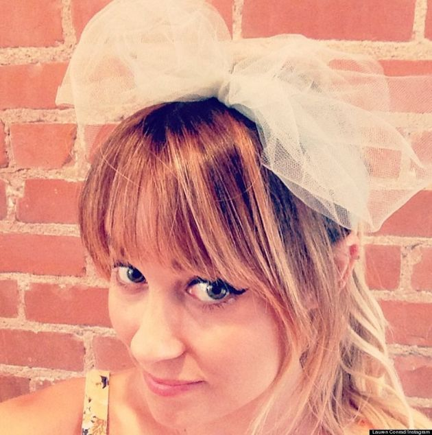 Lauren Conrad's New Bangs: 'The Hills' Star Reveals Haircut On