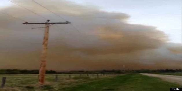 Lindale Wildfire: Evacuation Ends As 200 Residents Forced From Homes