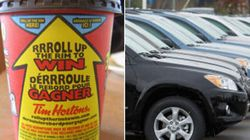 Are These This Year's Roll Up The Rim