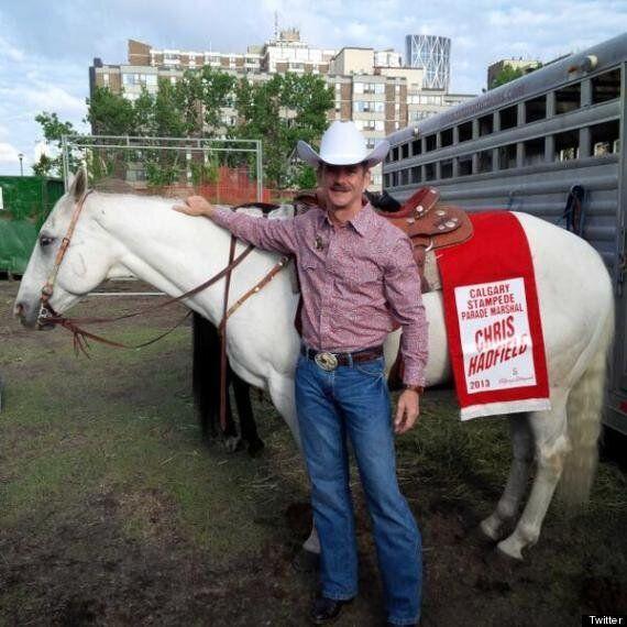 Chris Hadfield A Shining Star As Calgary Stampede Parade Marshal (PHOTOS,