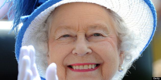 ASCOT, ENGLAND - JUNE 21: Queen Elizabeth II attends day four of Royal Ascot at Ascot Racecourse on June...