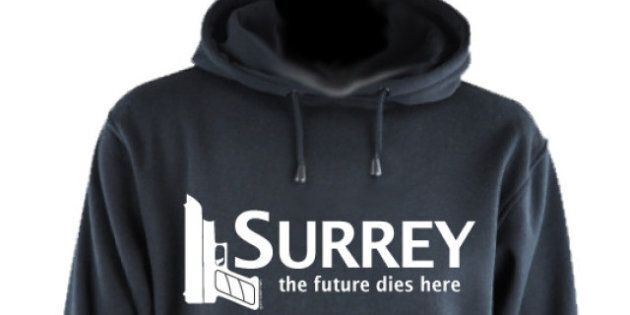 Surrey Crime T-Shirts Upset City