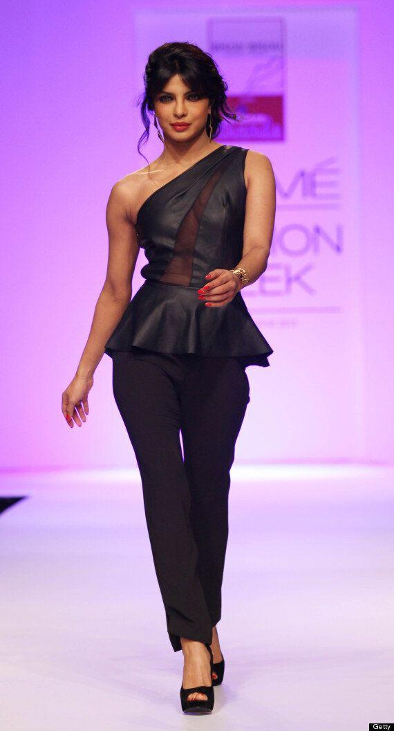 Priyanka Chopra Stuns At Lakme Fashion Week