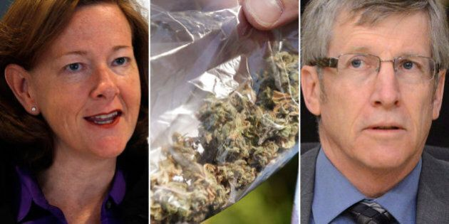 Alison Redford, Rick Hanson Stand United Against Marijuana