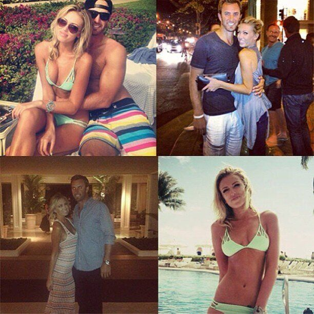 Paulina Gretzky, Dustin Johnson Instagram Their Make-Out Session