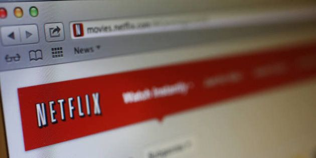 The Netflix Inc. website is displayed on a computer screen for a photograph in New York, U.S., on Thursday,...