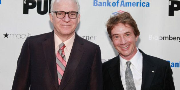 NEW YORK, NY - JUNE 20: Actors Steve Martin and Martin Short attend the 2011 Shakespeare In The Park...