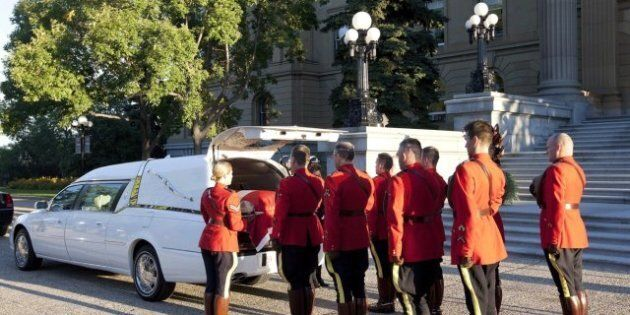 Peter Lougheed Hearse To Pass Landmarks Important To Former Premier On Trip To
