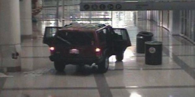 Thieves Smash Car Into B.C. Mall To Loot Jewelry