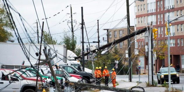 Sarnia Hydro Worker Killed While Repairing Superstorm Sandy