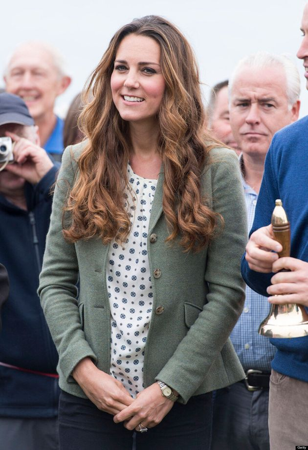 Duchess Of Cambridge Returns To Work On Anglesey Island Without Prince George