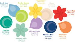 What Colours Are 'In' And 'Out' For Spring 2013? Pantone Has The