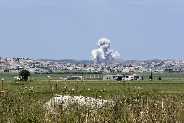 Cinq enfants tués par des tirs de roquettes en