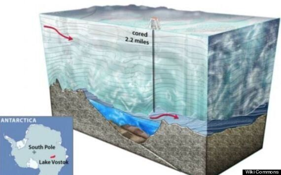 Lake Vostok, Antarctic Lake, Found Teeming With