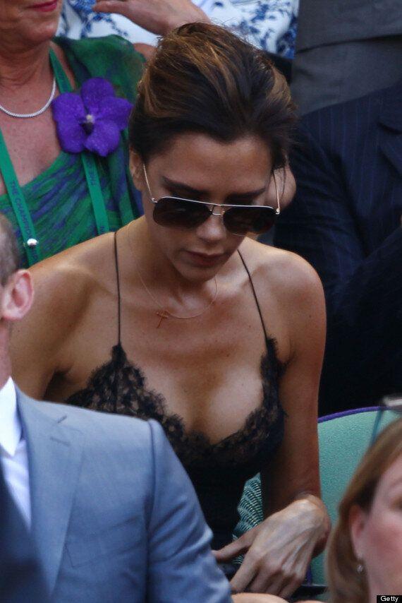 Victoria Beckham At Wimbledon: Posh Wears Sexy 'Nightie' To Watch Andy Murray Final