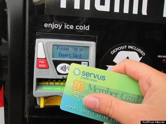 Calgary Stampede 2013: New Contactless Interac Vending Machines A First In