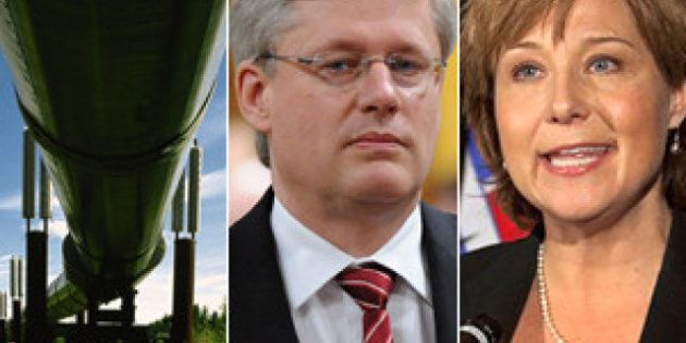 Northern Gateway Pipeline Battle Puts Harper In Tough