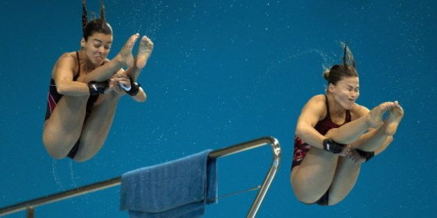 Meaghan Benfeito And Roseline Filion Win Bronze Medal In Women's 10M Synchronized