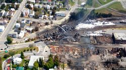LOOK: Lac Megantic Tragedy As Seen From