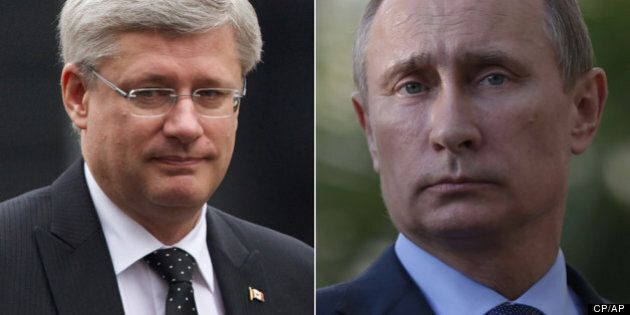 Russia, Canada Want G20 Focus On Economy, Not