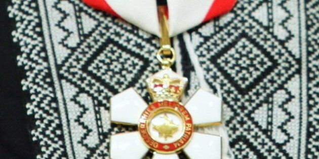 2012 Order Of Canada Inductees: Full
