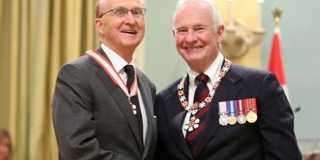 2012 Order Of Canada Inductees Include Hockey Greats, Politicians,