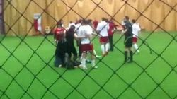 WATCH: Soccer Fight Prompts Police Probe, Crazy