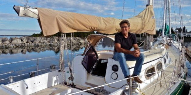 Vancouver Island Man Departs For Solo Sail Around The
