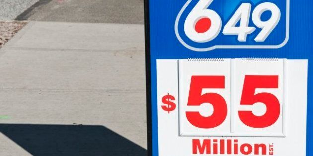 Lotto 6/49 Jackpot Estimated At $55 Million, A Canadian Lottery
