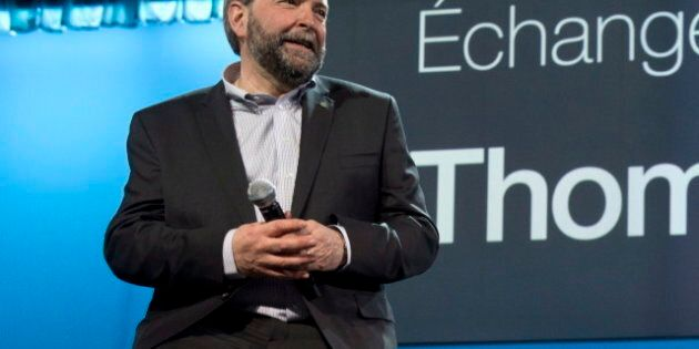 Tom Mulcair Focus Of NDP Convention's Second