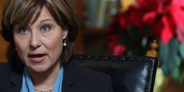 Polls Show Christy Clark Isn't Exactly In B.C.'s Good