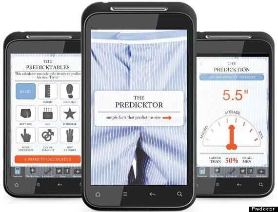 Predicktor App: Tool Claims To Predict Men's Penis Size, Teach Us Penis