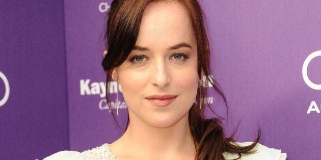 LOS ANGELES, CA - JUNE 08: Actress Dakota Johnson attends the 12th annual Chrysalis Butterfly Ball on...